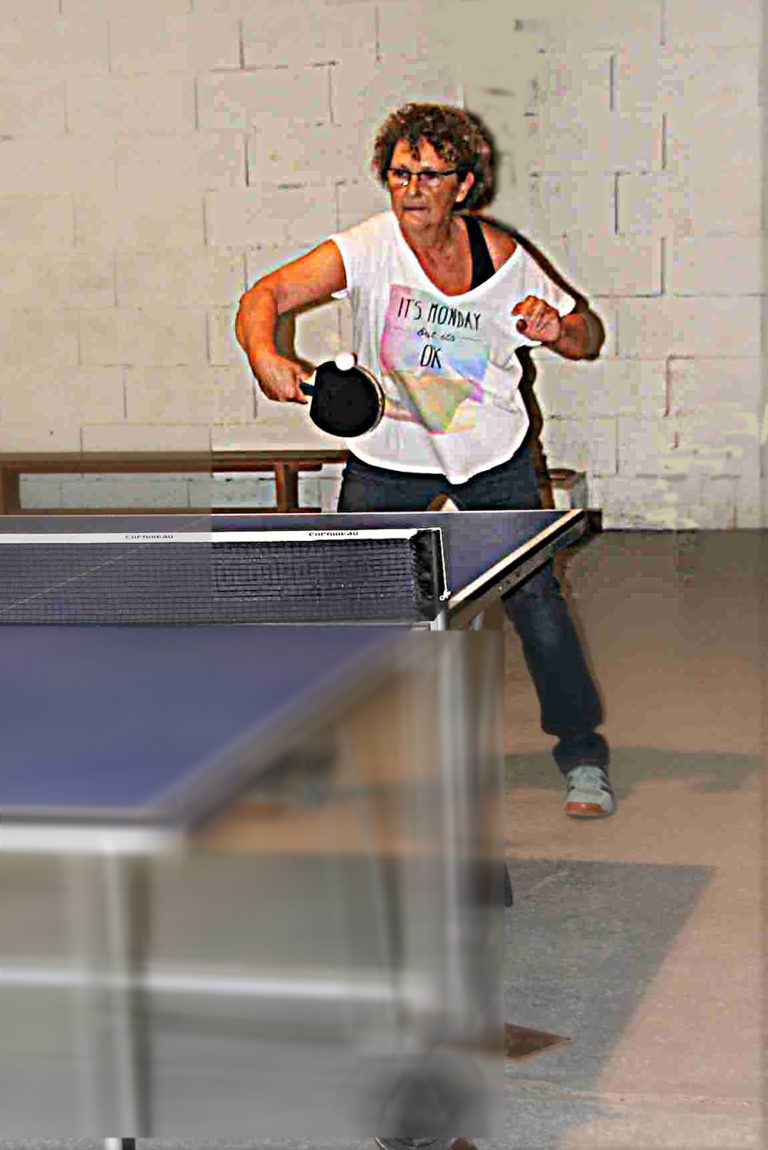 Activité Tennis de table avec le CASR Belley